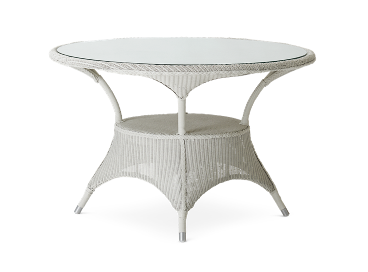 Chatto round four-seater table