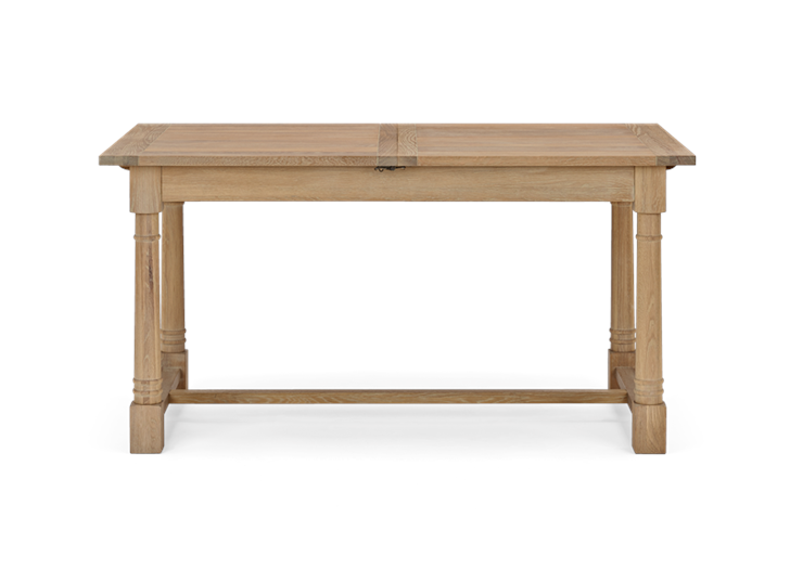 Edinburgh 150-240 Extending Table_Dark Vintage Oak_Front