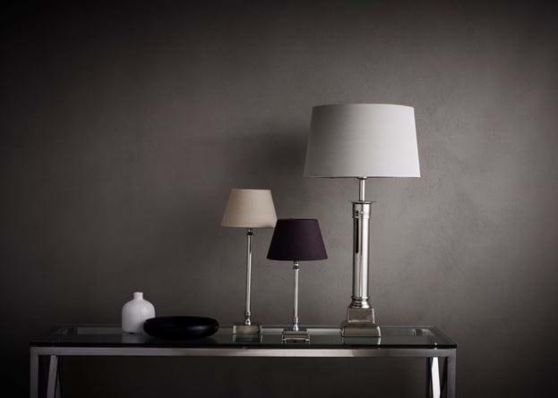 Imperial nickel lamp base