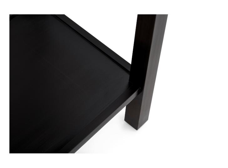 Aldwych console Warm Black detail 6