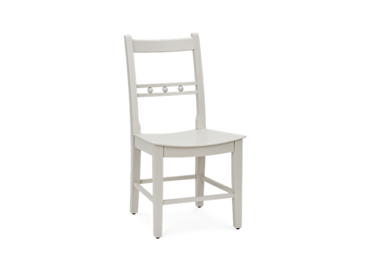 Suffolk Dining Chair_Painted Silver Birch_3Quarter