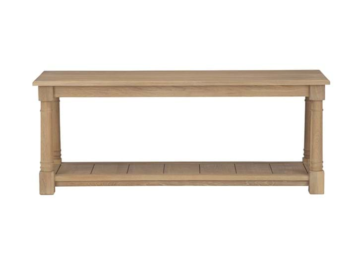 Edinburgh 120cm Bootroom Bench_Vintage Oak_Front