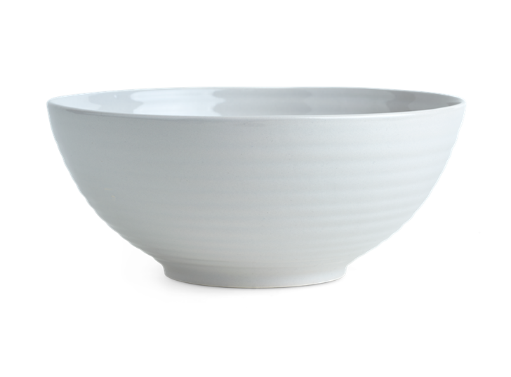 Lewes Serving Bowl Small Grey_Front
