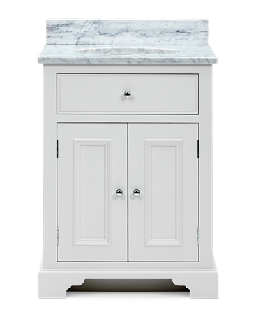 Chichester 640 Undermount Washstand Only-Shell-Shell Front