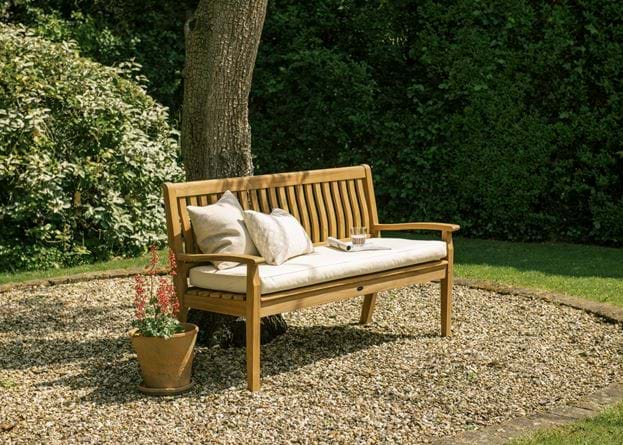 SS20 CANTERBURY 5ft bench wave back