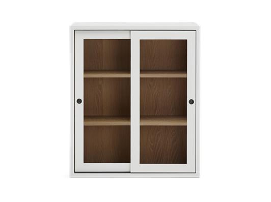 Chawton 105 Top Cabinet - Glazed - Snow