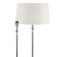 Hanover Floor Lamp, Nickel