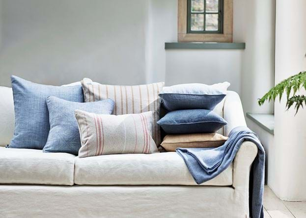 Long Island living cushion stack