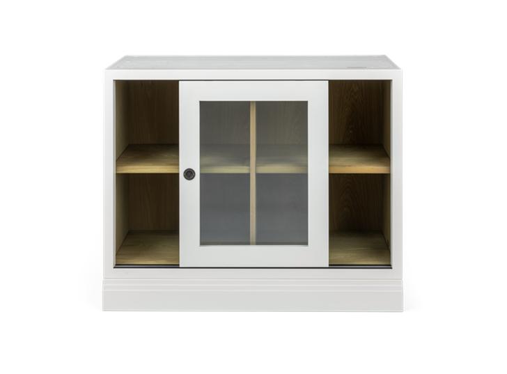 Chawton, 2 door base glazed doors, front, doors open copy