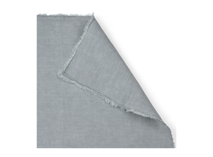 Antonia Fringed Napkins Set of 6 Powder Blue_Detail