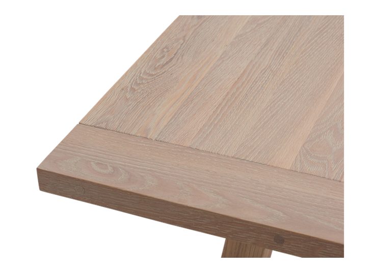 Arundel 245 Rectangular Table_Natural Oak_Detail 2