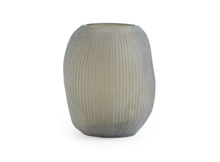 Alconbury Vase Large Grey_Front 1