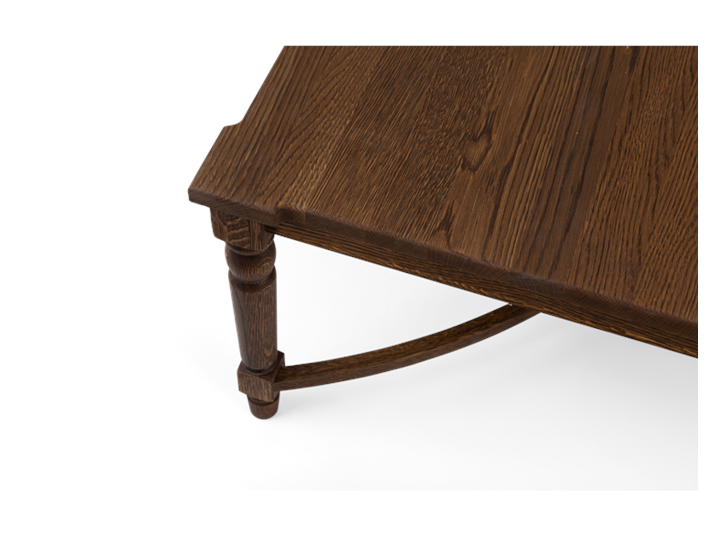 Blenhiem rectangular coffee table 140, detail copy