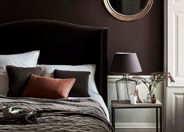Aw18_Part3_Bedroom_Charlie_Headboard_Isla_Grouse_MASTER_146_Walnut