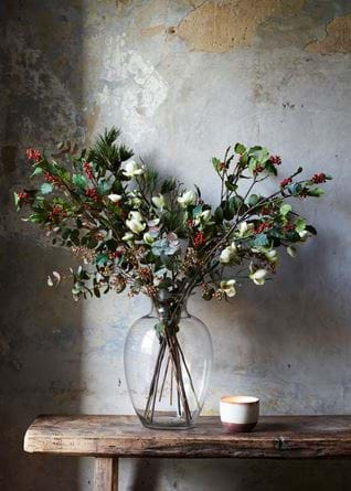 Holly and Magnolia Bouquet
