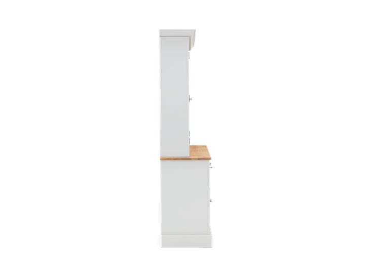 Chichester 5ft Glazed Rack Dresser Top Side