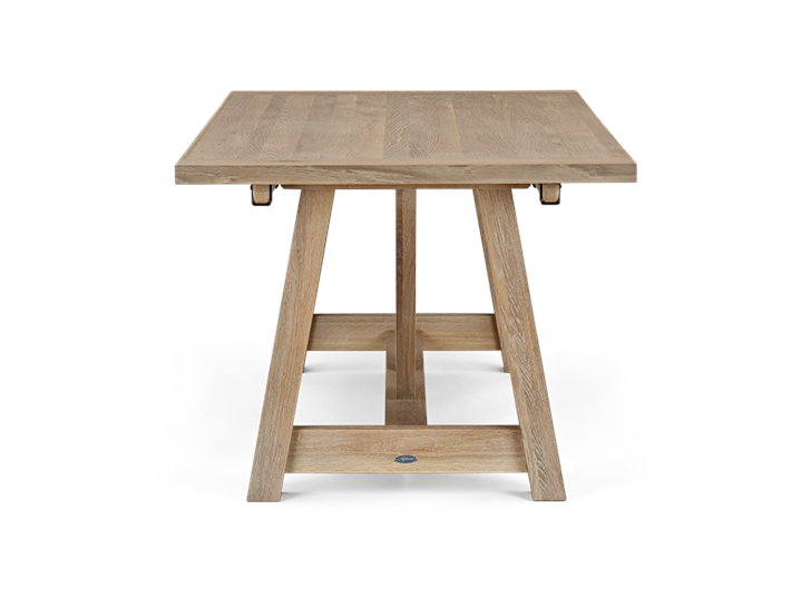 Arundel 184-274 Ext Table_Natural Oak_Side