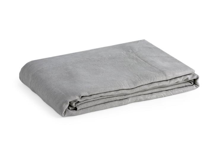 Emily Linen Tablecloth Mist_3Quarter
