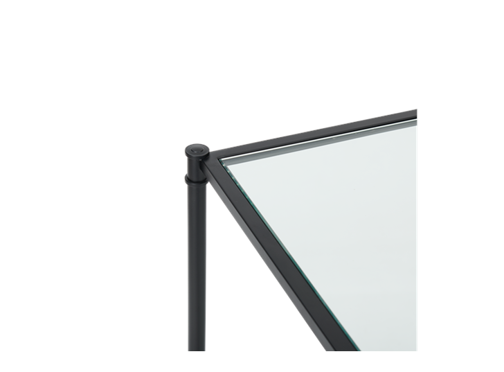 Coniston 120 Rectangular Console Table Black Bronze_Detail 4
