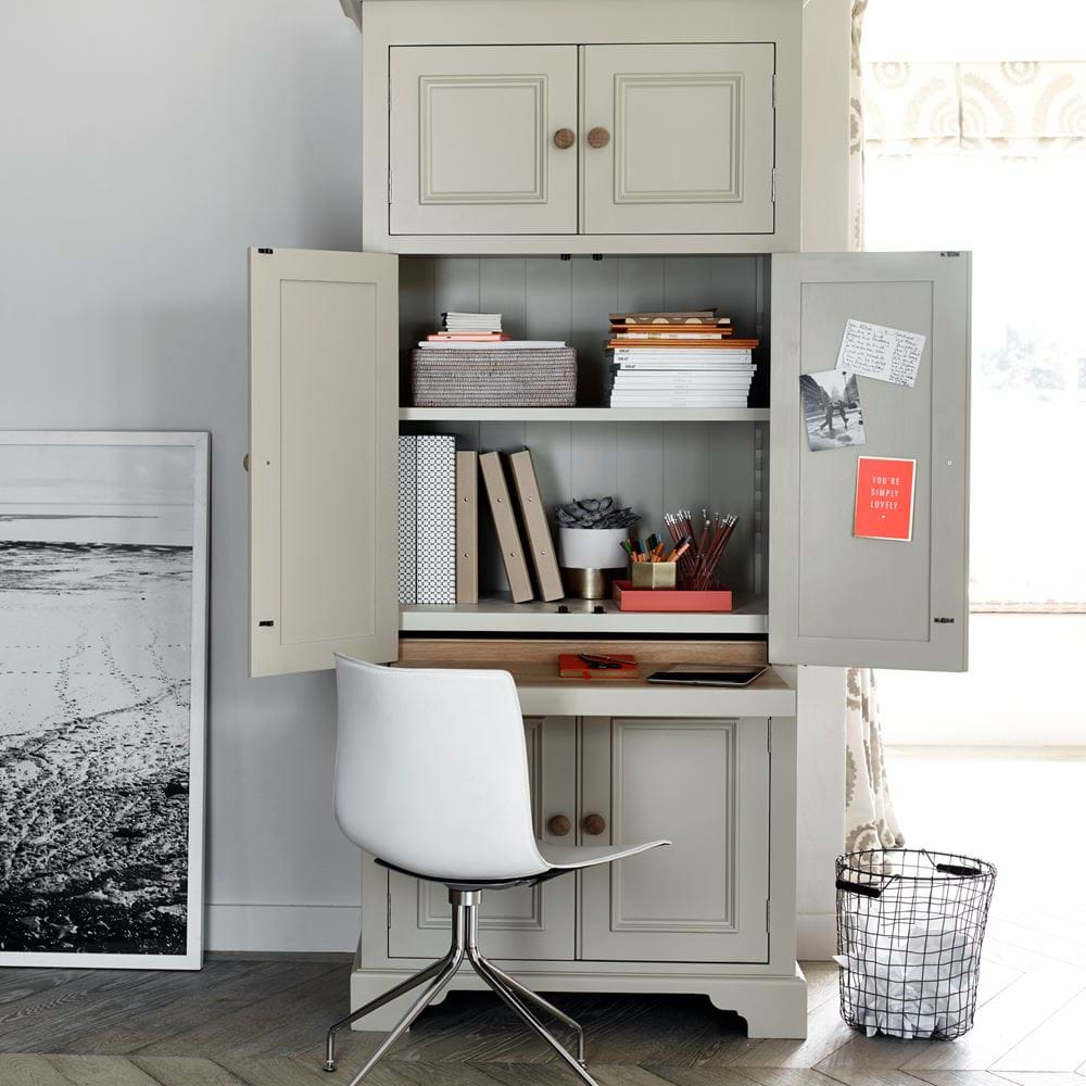 Neptune Chichester Workstation painted in Neptune Old Chalk Paint