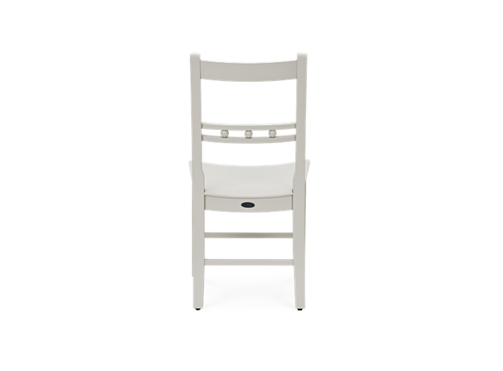 Suffolk Dining Chair_Painted Silver Birch_Back