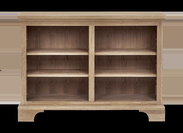 Henley 4ft Wine Rack Book Case Oak Front