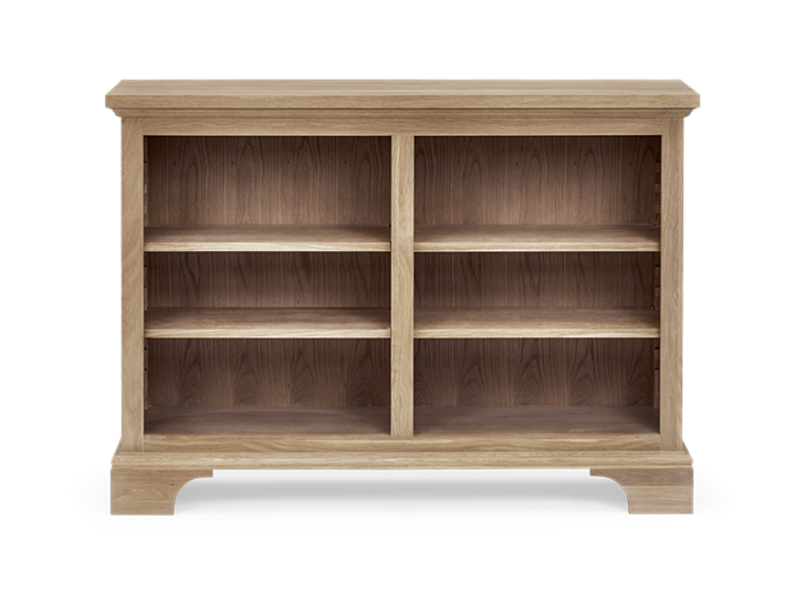 Henley 4ft Wine Rack Book Case Oak Front