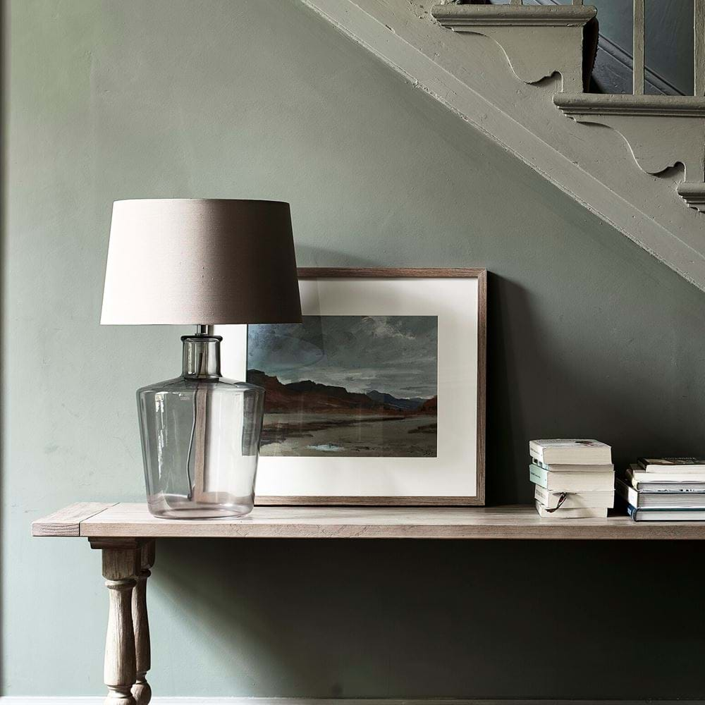 Castleford Medium Lamp with Lucile Shade