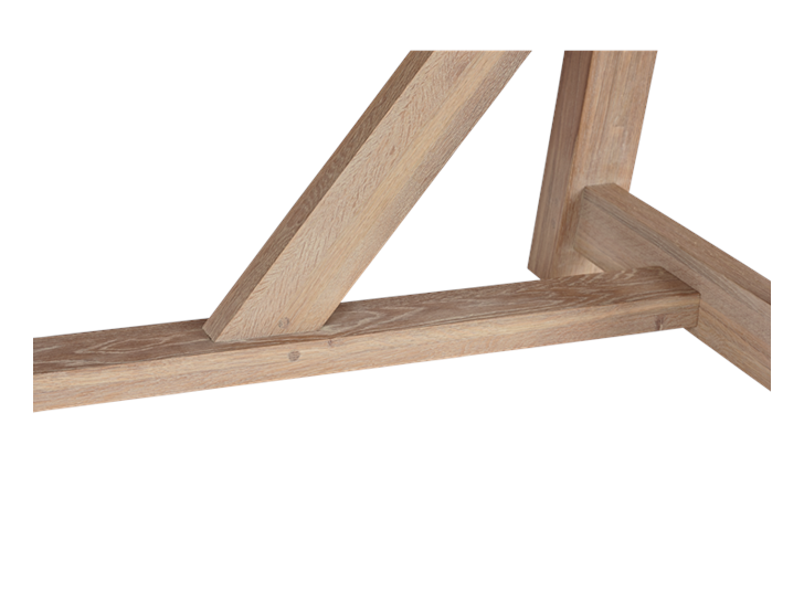 Arundel 184-274 Ext Table_Natural Oak_Detail 1