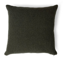 Grace Scatter Cushion 45x45cm, Olive Chevron