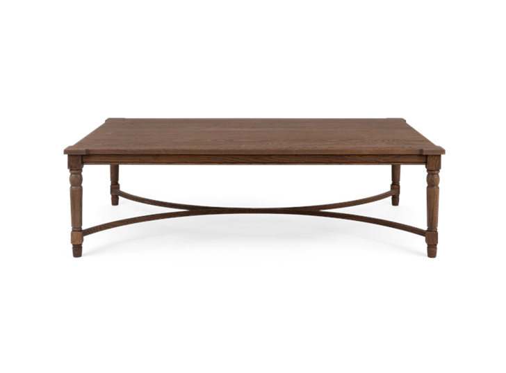 Blenhiem rectangular coffee table 140, front copy