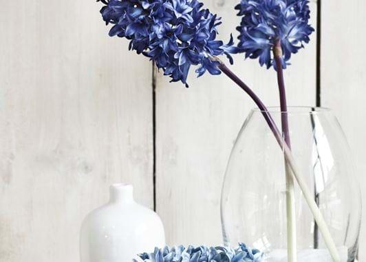dulwich medium glass vase