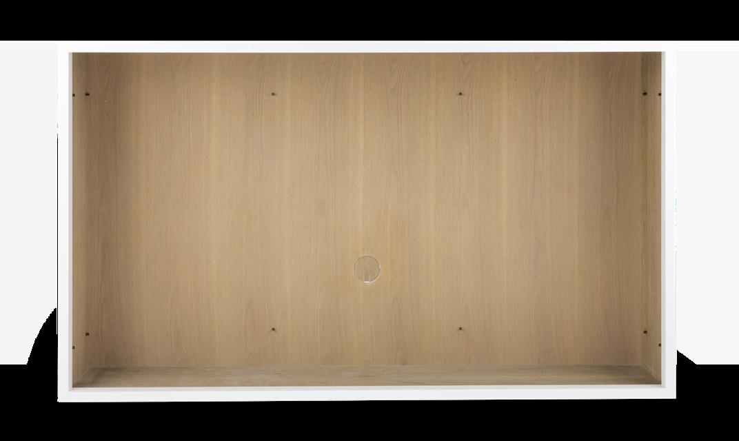 Chawton TV Cabinet, 0 shelves, front copy