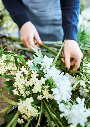 Hannah Redman Spring Flower Arranging Delphinium