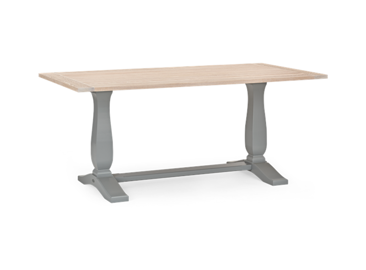 Harrogate 170 Rectangular Table_Fog_3Quarter
