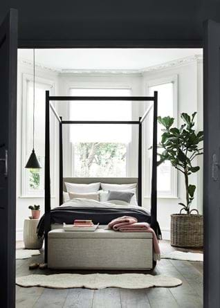 Wardley bed with basket
