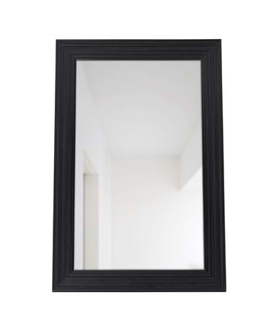Kintbury 154 Rectangular Mirror Black_Front PR