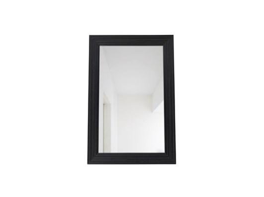 Kintbury 154 Rectangular Mirror Black_Front PR