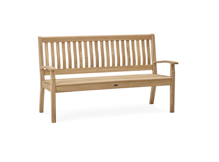 Canterbury 5ft Wave Back bench