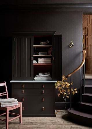 Suffolk Bi-Fold Dresser in Walnut