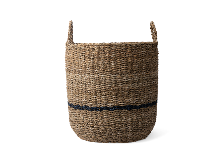 Redford log basket, large, front