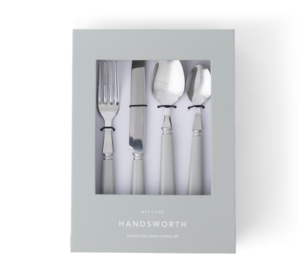 Handsworth cutlery Mist front in box