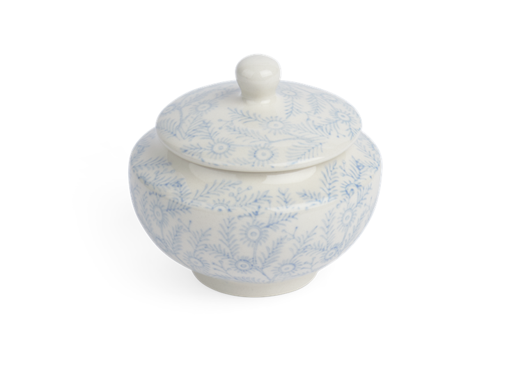 Olney Sugar Bowl - Flax Blue 3
