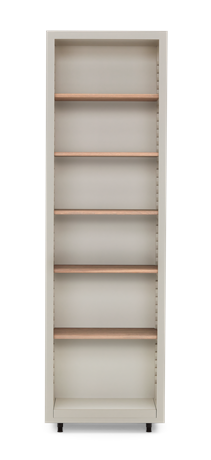 Pembroke Fitted Storage-650mm Driftwood-Silver Birch Front