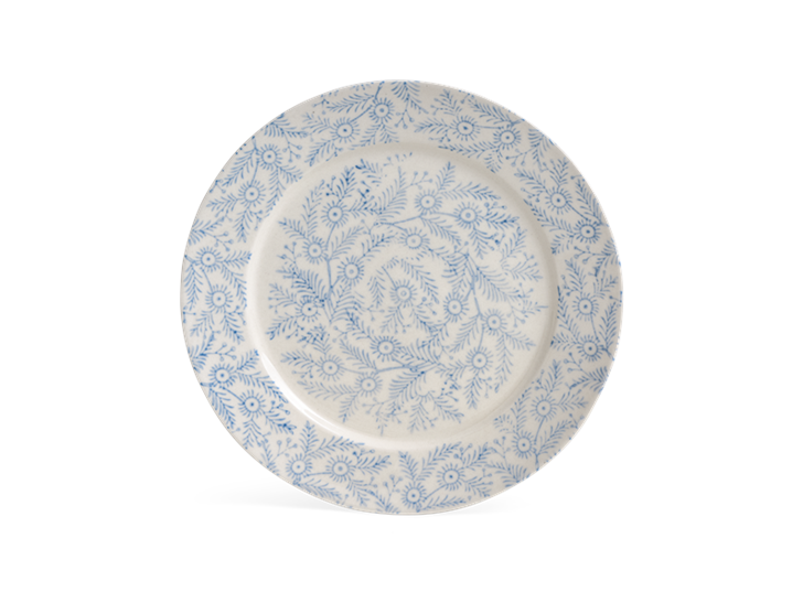 Olney Side Plate Set of 6 Flax Blue_Top