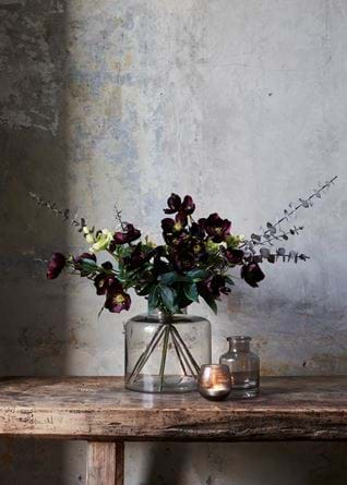 Winter Hellebore Bouquet