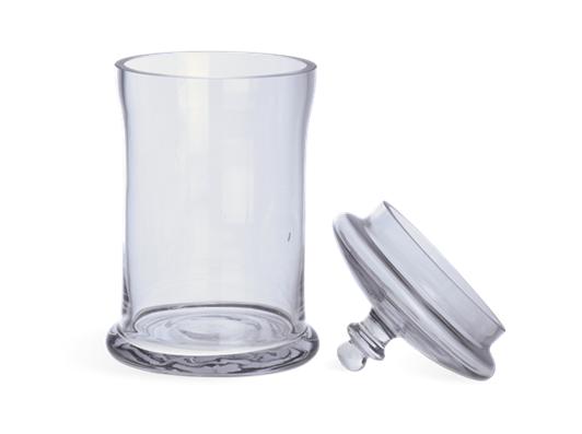 Belmont Glass Jar, Small 2