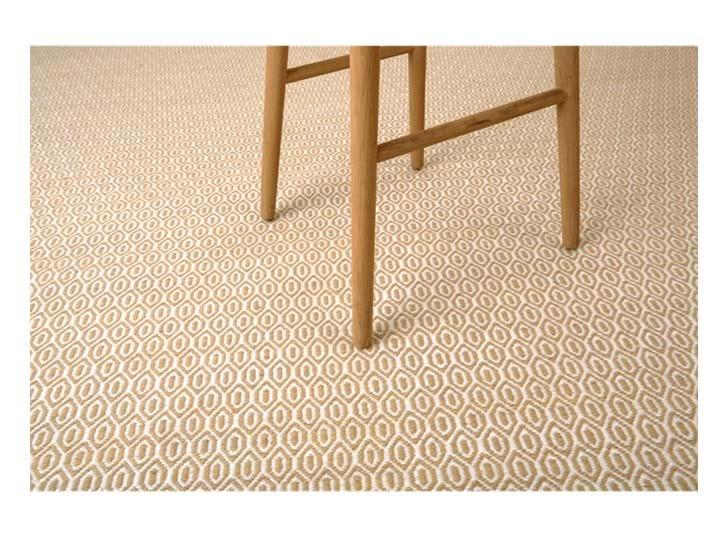 Alderbury geometric rug 200x300_saffron_detail 1