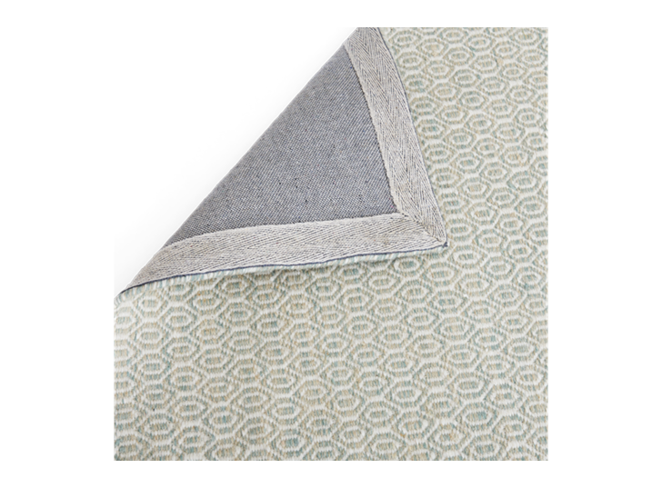 Alderbury 200x300cm Rug Soft Teal_Backing