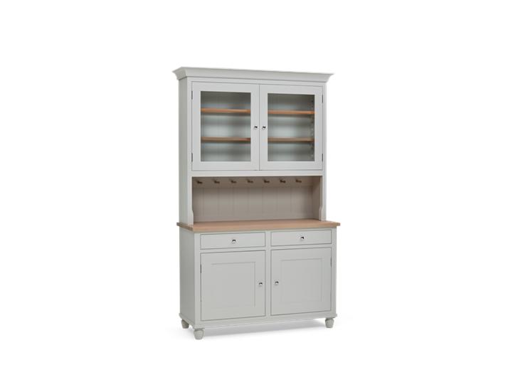 Suffolk 4ft glazed Dresser Silver Birch 3Q Closed ┬® Robert Smith 2020